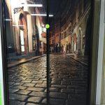 Рисунок город на шкафу