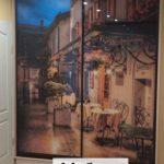 Шкаф купе рисунок город