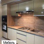 Кухня с вытяжкой металлик Луганск
