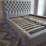 Кровати под заказ каретная стяжка