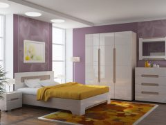 Спальня коричневая ЛНР