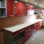 Красная кухня под заказ в Луганске