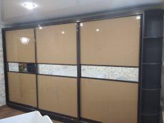 Шкафы-купе под заказ в Луганске коричневый